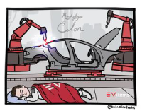 Elon is back to sleeping at the Fremont Tesla Factory