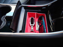 Premium Vegan Tesla Model 3 & Y Center Console Storage Cubby