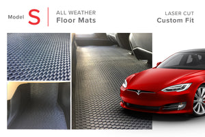 Tesla Model S All Weather Floor Mats