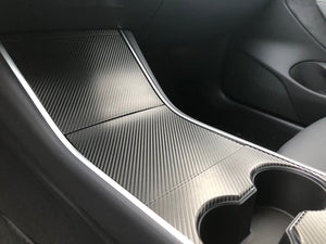 Model 3 & Model Y Center Console Vinyl Wrap Protector Kit1