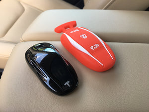 Tesla Model S Silicone Key Fob Cover