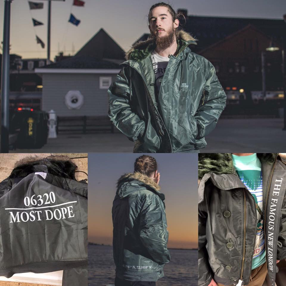 "HIVE SKATE SHOP X FRANK LO ""CO-ORDINANCE"" PARKA JACKETS"