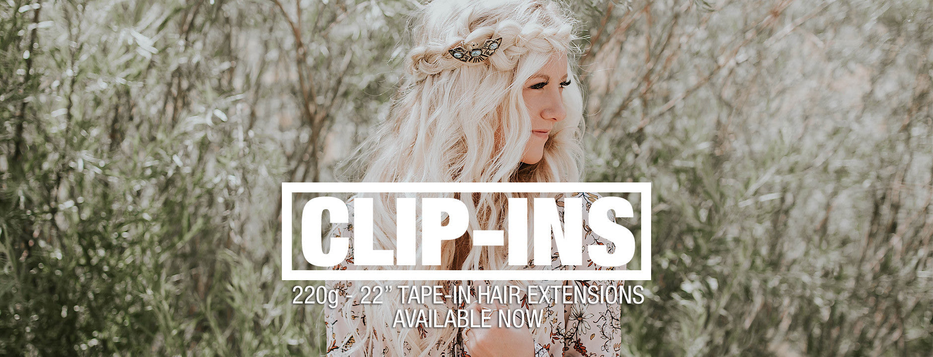 Monarch Clip-In Hair Extensions