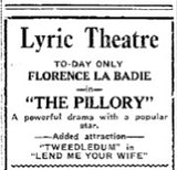 Lend Me Your Wife_Marcel Perez_Tweedledum_Lyric Theatre_eArtFilm