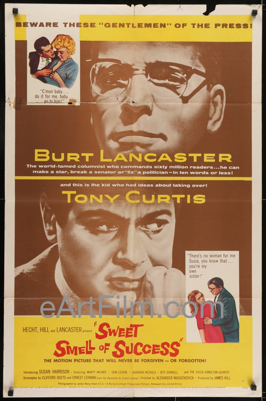 The Sweet Smell of Success: 1957