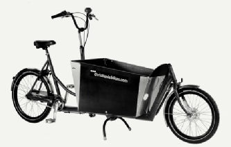 Christiania Bikes 2wheeler with Electronic Assist Hub Motor