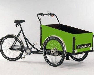 Green Christiania Model Light Cargo Bike