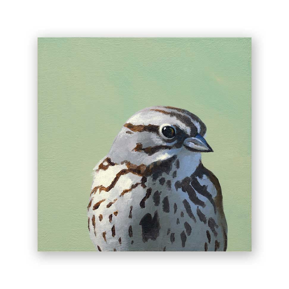 Song Sparrow - Wings on Wood®