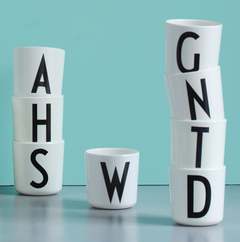 Ameico Design Letters Kid's Cup