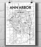 Ann Arbor City Map