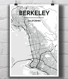 Berkeley City Map
