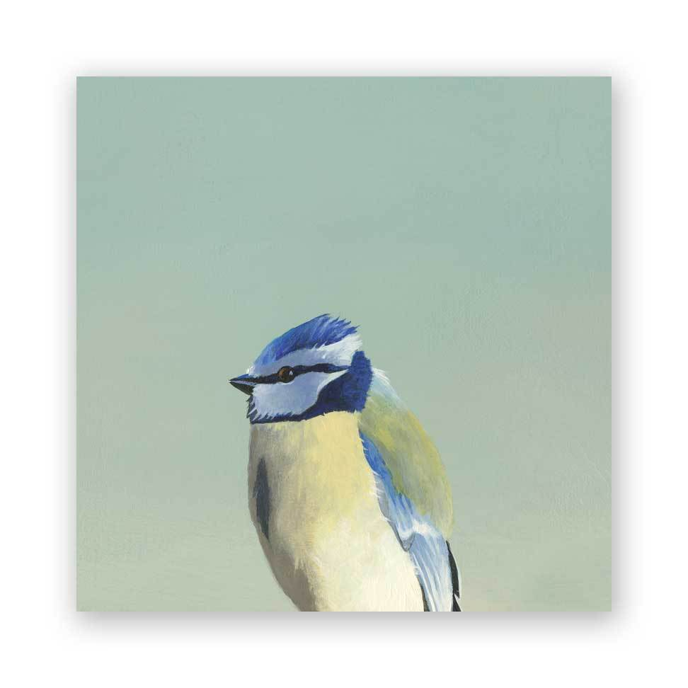 Blue Tit - Wings on Wood®