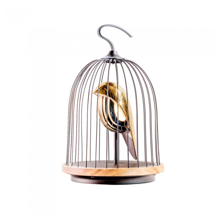 Bird in a Cage - Light & Bluetooth Speaker