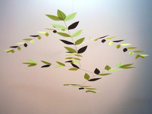 Silk Leaf Mobile