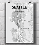 Seattle City Map