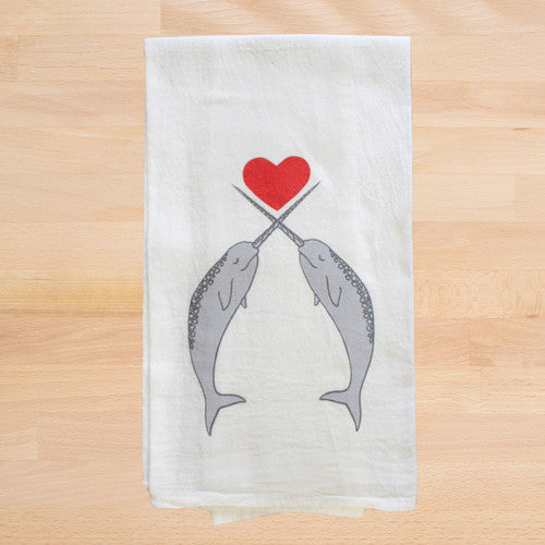 Narwhals Tea Towel