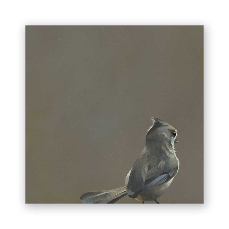 Oak Titmouse - Wings on Wood®