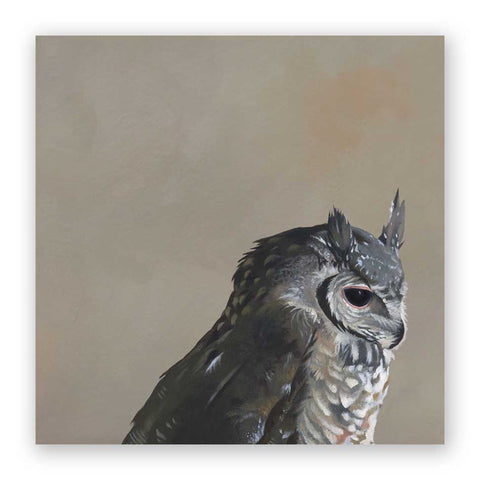 Oriental Scops Owl - Wings on Wood®