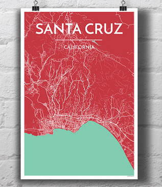 Santa Cruz City Map