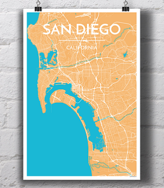 San Diego City Map