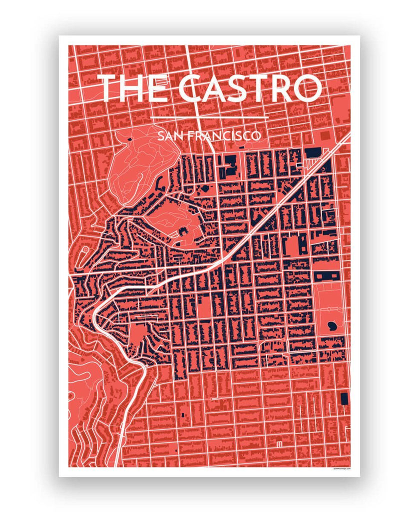 The Castro SF Map