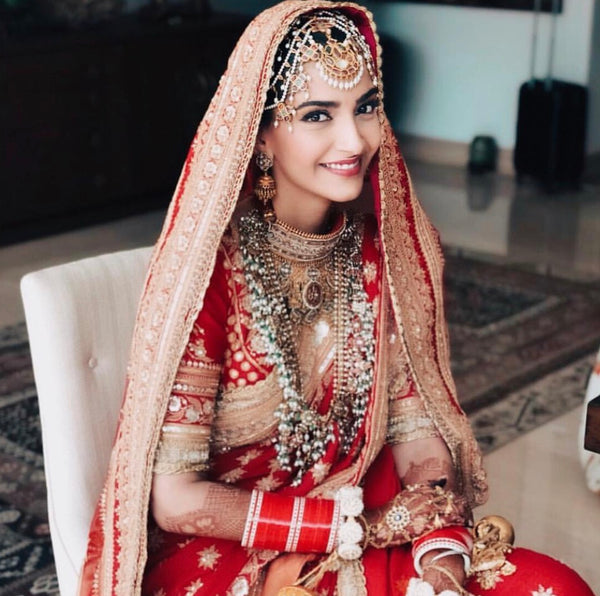 The Sonam Kapoor Wedding Outfit Breakdown
