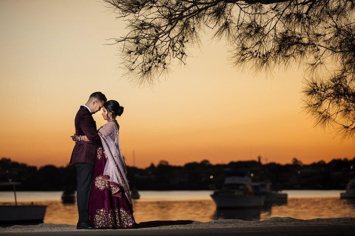 Zeenath's Custom Velvet Lehenga & Her Dream Wedding