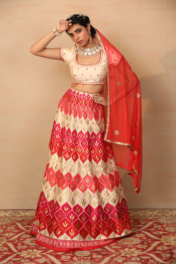 MISHA Multi Coloured Lehenga