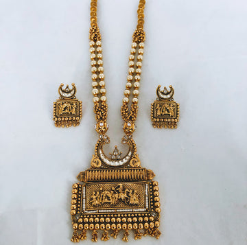 Gold Kadaan Rani Haar Jewellery Set
