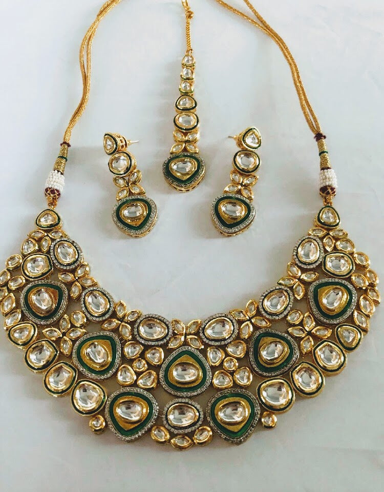 Safar Kundan Jewellery Set