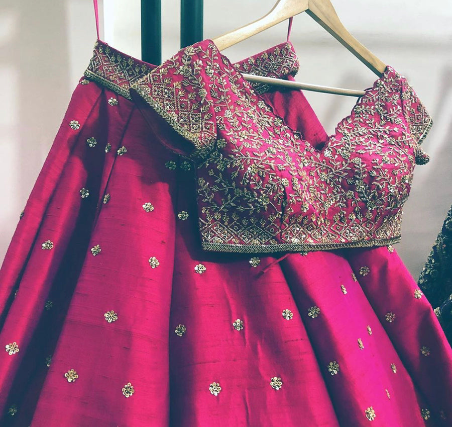 Pink Dream Bridal Lehenga Set