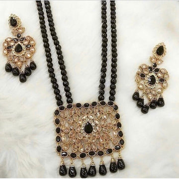 Black Necklace & Earrings Set