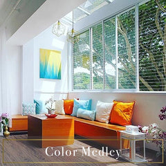 Color Medley veranda HDB balcony home styling Decoriia portfolio