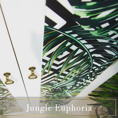 Jungle Euphoria Tropical and gold home styling Decoriia portfolio