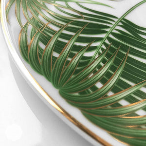 Espresso set | 2pcs | tropical leaf - Decoriia
