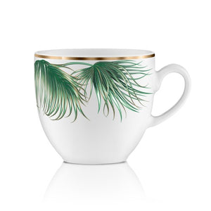 Coffee set | tropical leaf - Decoriia