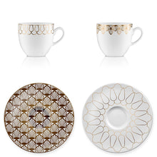 Espresso set Art Deco 1 - Decoriia
