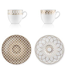 Espresso set Art Deco 2 - Decoriia