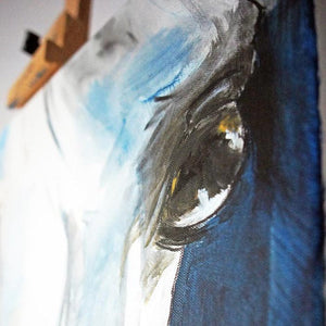 Arabian Horse portrait - Decoriia