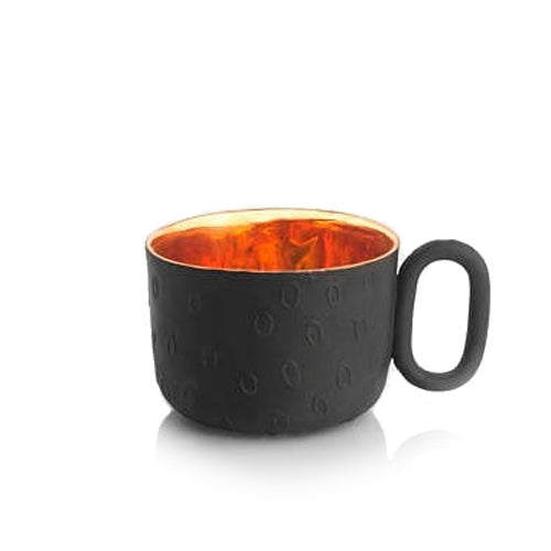 Oh Joy! Cup black gold inside - Decoriia