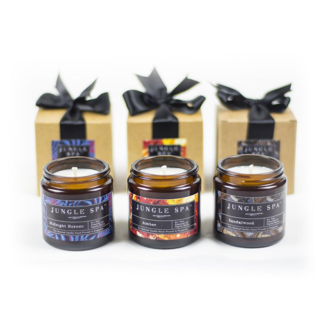 100% Soy Wax Candles Set of 3 + FREE DELIVERY - Decoriia