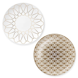 Plates Art Deco set of 2 - Decoriia