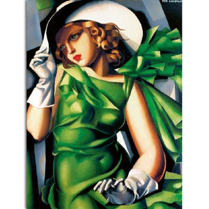 Tamara de Lempicka - Girl with Gloves - Decoriia