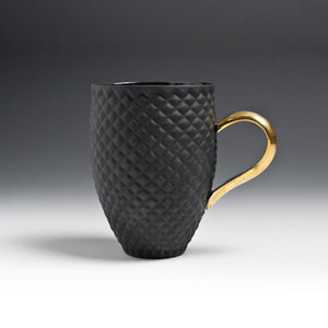PINEAPPLE mug black - Decoriia