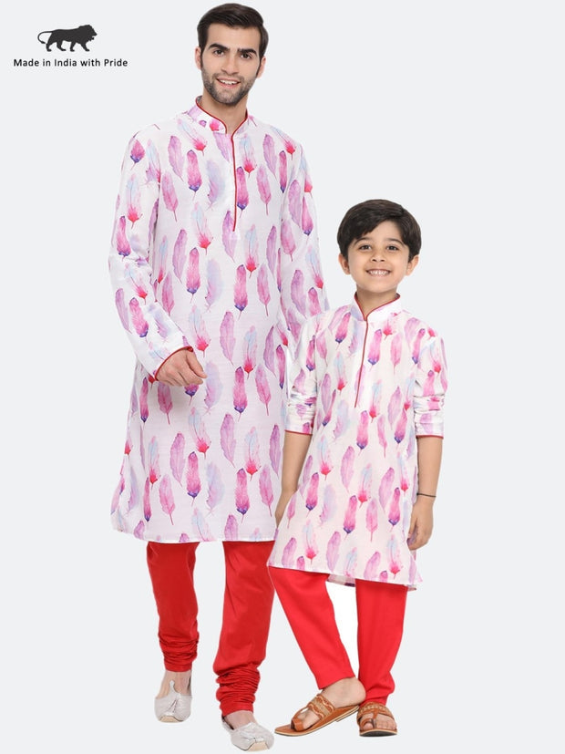 matching kurta pajama for father and son