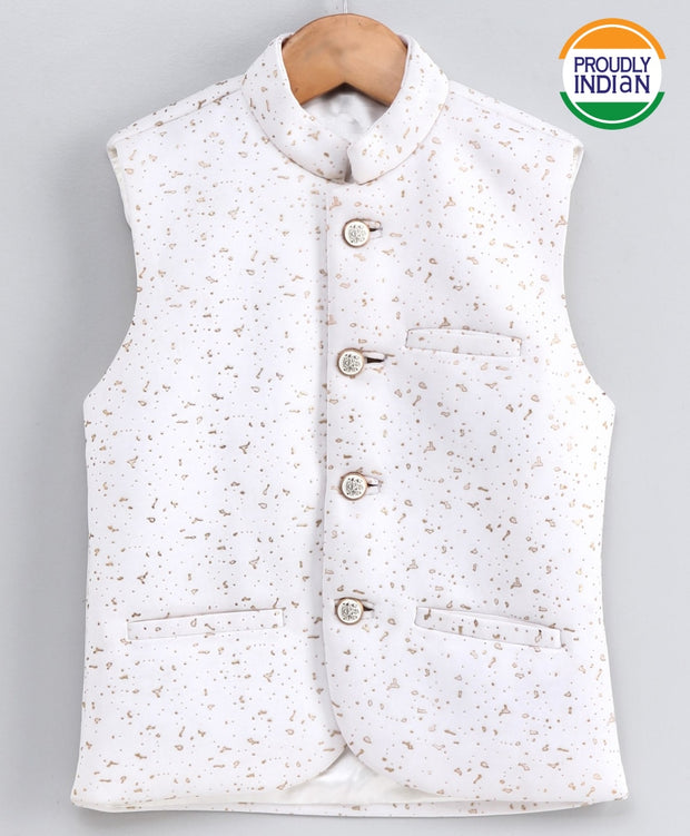 JBN Creation Boys' Imported Dew Drop Ethnic Jacket