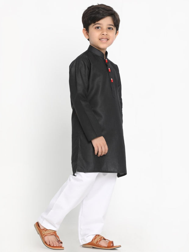 JBN Creation Boys'  Soft Comfortable Light Weight Cotton Kurta and Pyjama Set