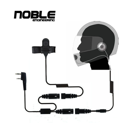 Noble Racing Radio +1 Helmet Kit