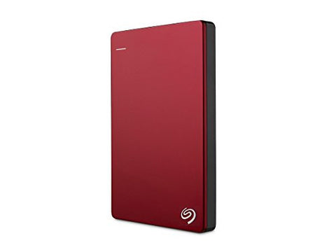 Seagate Backup Plus Slim 2TB Portable External Hard Drive USB 3.0, Red (STDR2000103) - Windows Password Reset