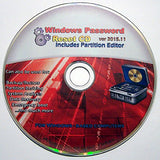 Recovery Boot Password Reset CD - Works with Windows 7 / XP / 2000 / 98 - NEW 2015 Version! - Windows Password Reset